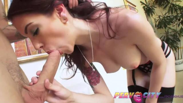 PervCity Anna De Ville Assfucked to Gape with Cumshot