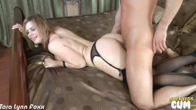 Kinky Tara Lynn Foxx gets Ass Jizzed
