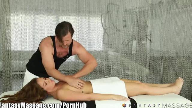 Fantasy Massage Maddy O Reilly gets a House Call