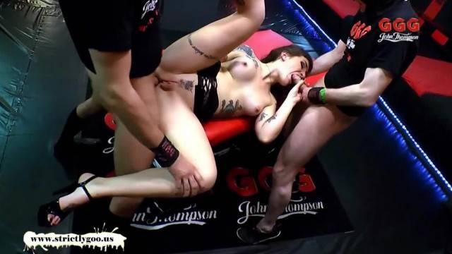 German Goo Girls Tattoos Anal and Cum