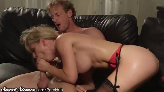 SweetSinner Cherie DeVille has Hot Lustful Sex with Hung Guy