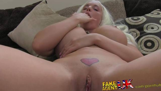 FakeAgentUK Busty Euro Babe gives Agent Afternoon Delight