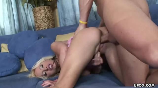 Rough Anal for Savannah as she get her Orgasm Met