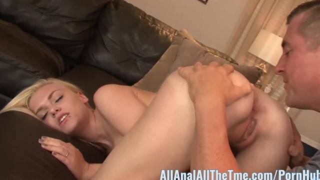 Hot Blonde Jessie Young gets Ass Spread and Licked