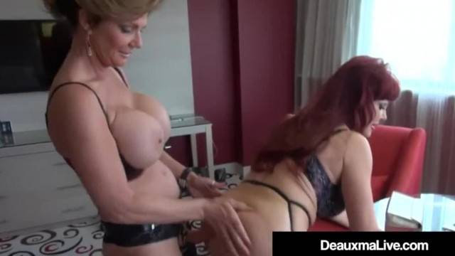 Mature Latina Sexy Vanessa StrapOn Fucked by Cougar Deauxma