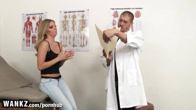 WANKZ Hot College Girl Fucked Hard by Fake Doctor