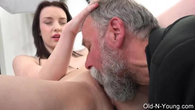 LENKA old Guy Enjoys a Teen tight pussy