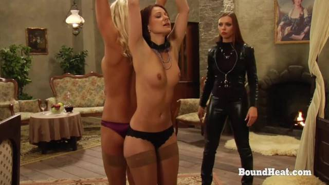The Education of Erica two Lesbian Slaves and their Training