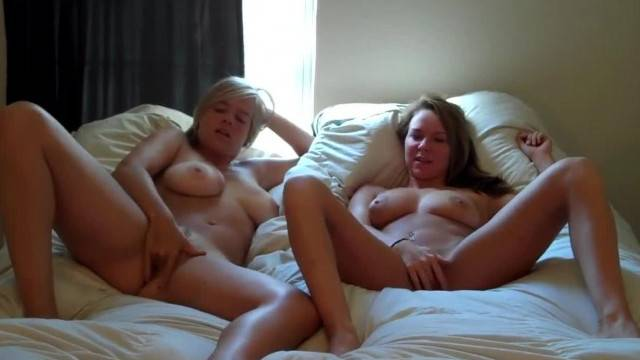Two College Girls having Fun together