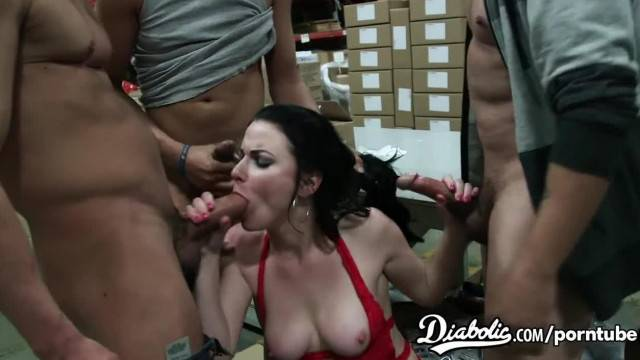 Veruca James is in her Gang Bang Audition