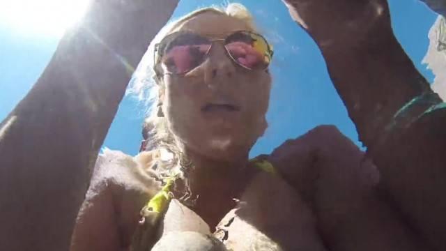 Madison gets Fucked Underwater