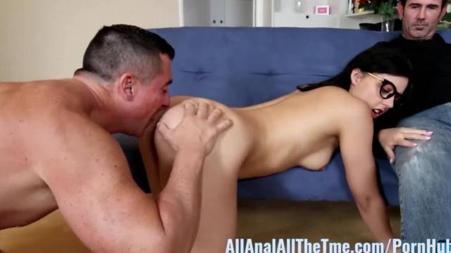 Whitney Wright gets Ass Fucked by Older Guy in Front of BF AllAnal