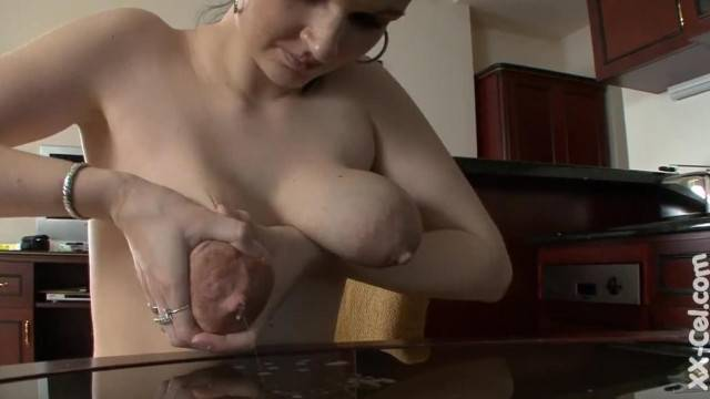 Young Squirting Tits milked hard