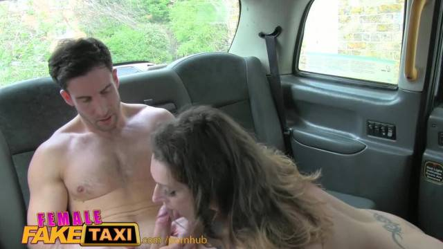 FemaleFakeTaxi Nervous Farmer cannot Satisfy Driver