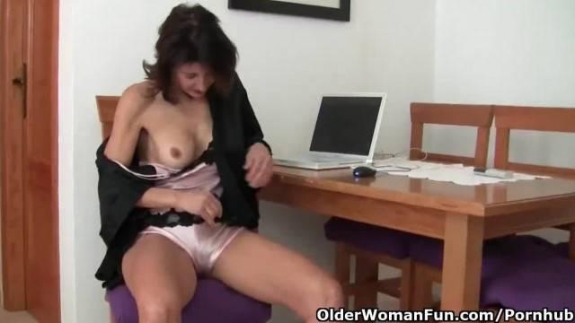 Watching Porn Ignites Grandma Lust