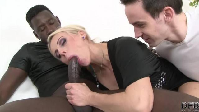 Mature Wife Fucks with a Black Man and makes hubby watch