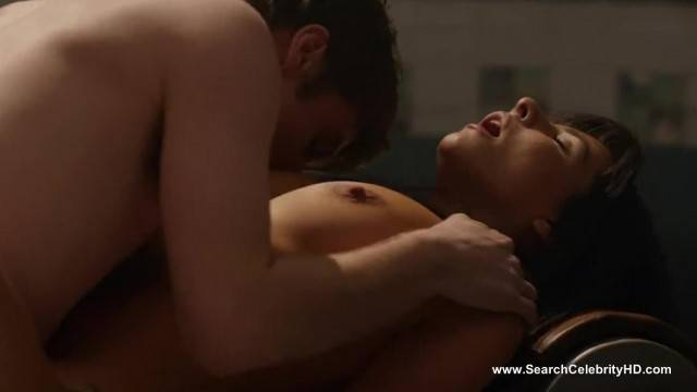 Sadie Katz and Roxanne Pallett hot movie scenes