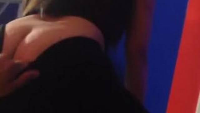 Cheating Ex Girlfriend Ass Grabbing Lap Dance