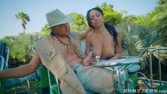 Swamp Buggy Booty with busty gorgeous MILF Brazzers