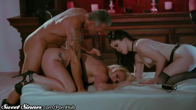 SweetSinner Master makes Slaves AJ Yhivi Cum Hard