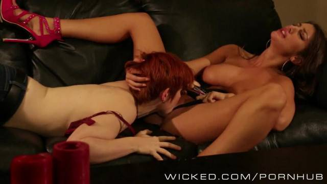 Wicked two Sexy Lesbians get to know each other