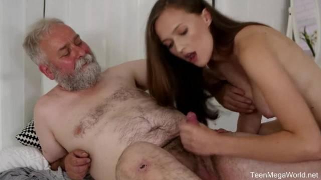 Old n Young Horny Cutie Stacy Cruz Fucks Old Pervert
