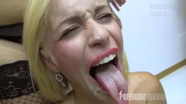 Premium Bukkake Cumshot Swallow Compilation and Emotional Girls Reactions