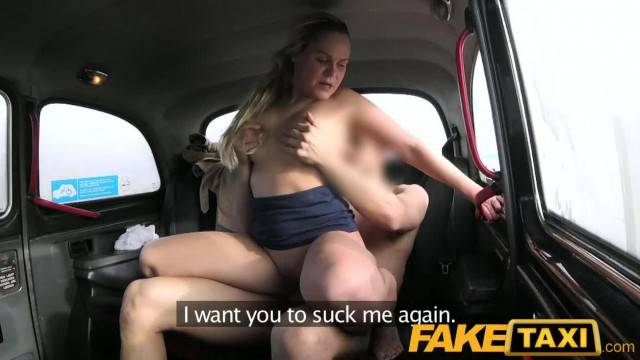 FakeTaxi Sex Mad Czech Blonde Lady wants Cock