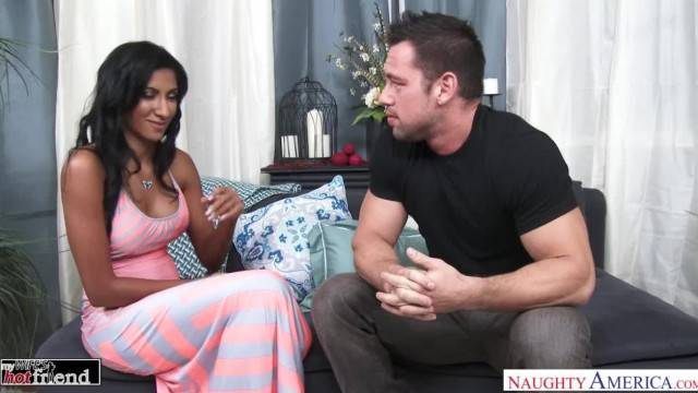 Spicy Latina Sadie Santana Fucks her Friend Husband Naughty America