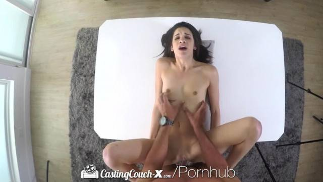 CASTINGCOUCH X Amateur Eden Sin has her Pussy Fucked by Agent