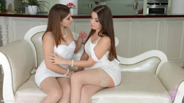 Morning Chill by Sapphic Erotica Evalina Darling and Diana Dolce Lesbians