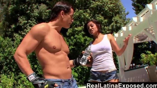RealLatinaExposed Horny Latina Vanessa Leon Rides a Big Dick