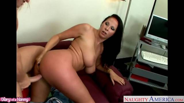 Sinfully Nanny Gianna Michaels taking Cock