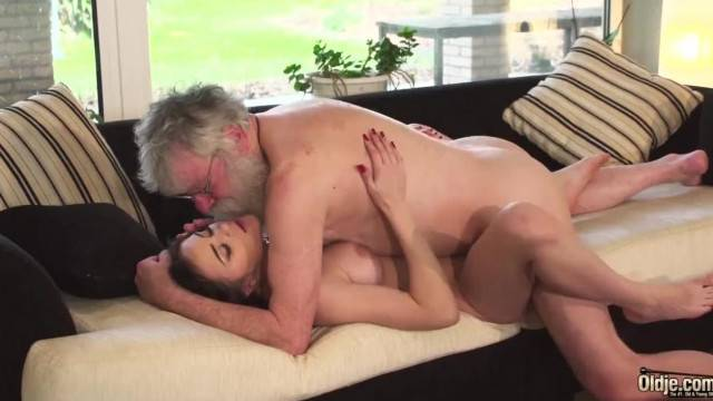 Touch my Perky Tits and Fuck my Teen Virgin Pussy your Dirty old Grandpa