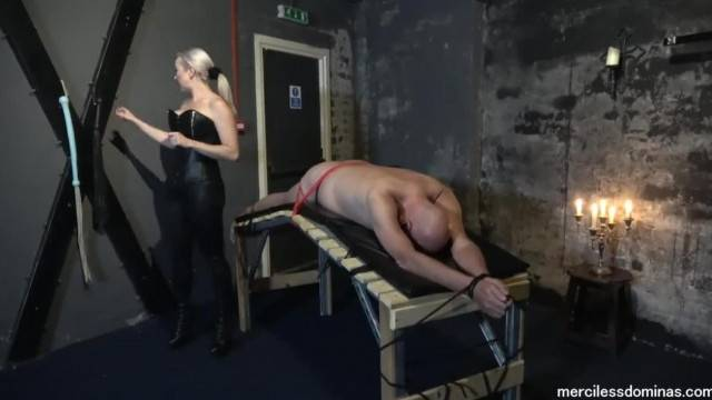 You can t get away miss Jessica Wood and miss Hunter Whipping Loud Slave