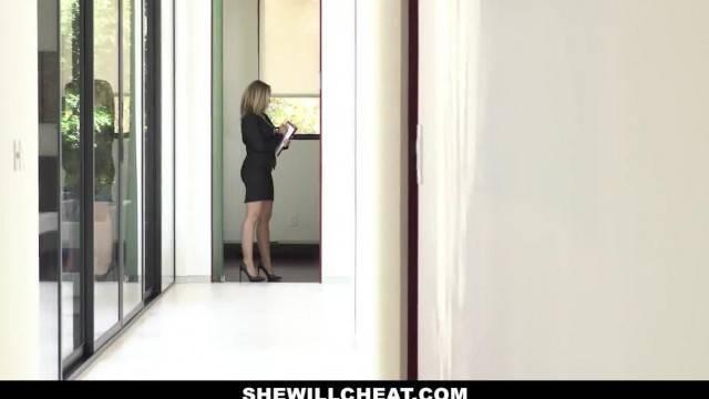SHEWILLCHEAT Horny Real Estate Agent Fucks BBC