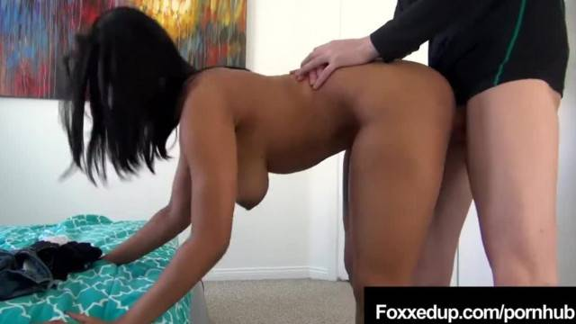 Black Swan Jenna Foxx Trades Interracial Sex for Class Help