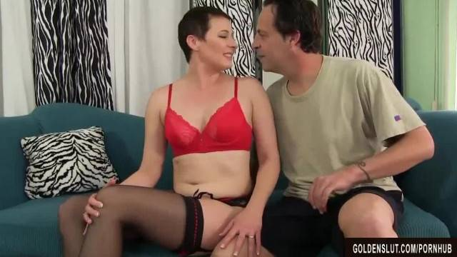 Mature Honey Fucked in her Mouth Pussy