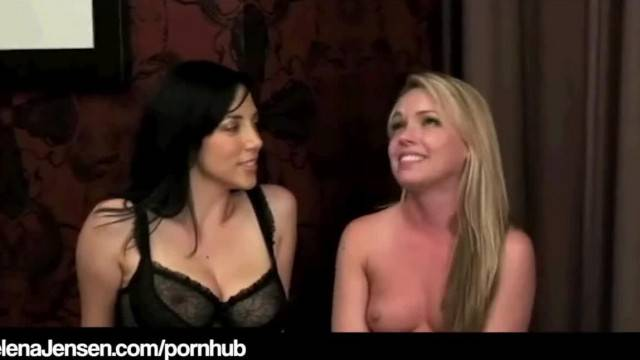 Penthouse Pet Jelena Jensen Tickles Tongues Trisha Uptown
