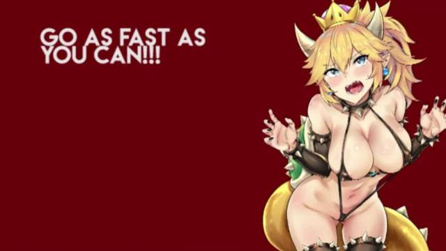 Bowsette JOI CEI Ruin with Busty Anime