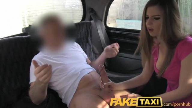 Innocent College Babe does Backseat Anal for Free Ride