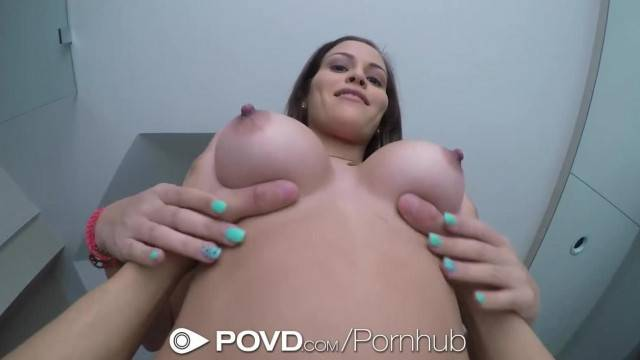 POVD Karter Foxx Shaving and Titty Fucked in POV