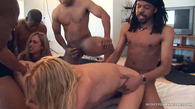 MDDS Hardcore Blacks and Blondes Orgy
