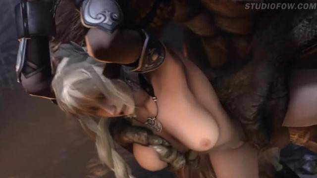 HARDCORE DIRTY SFM WITH IMMOBILIZED BUSTY BABES FUCKED BY MONSTERS