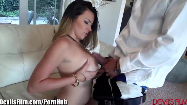 Danica Dillan gets Dirty and Titfucked by Marco