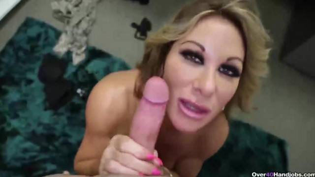 Busty MILF milks step son in her office for some young cream