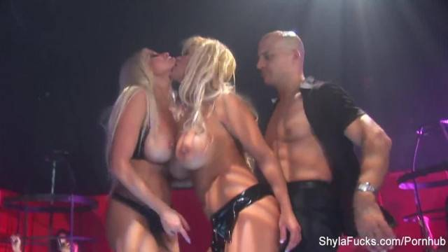 Busty Shyla Stylez gets down in a Hot Threesome