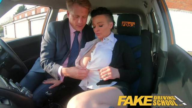 Fake Driving School Busty Businesswoman Tory Candi Jackson Fucked by Boss