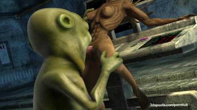 Creepy Aliens Fucking in all positions