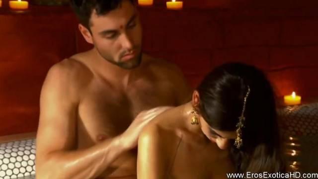 Beautiful Massage Work Before Passionate Love Making